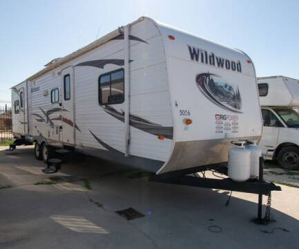 2012 Wildwood By Forest River Wildwood for sale at GQC AUTO SALES in San Bernardino CA