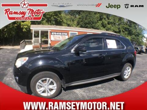 2013 Chevrolet Equinox for sale at RAMSEY MOTOR CO in Harrison AR
