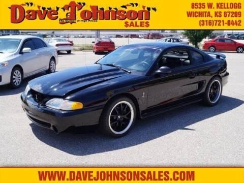 1997 Ford Mustang SVT Cobra for sale at Dave Johnson Sales in Wichita KS