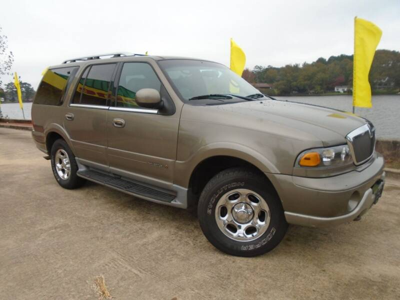 2001 Lincoln Navigator for sale at Lake Carroll Auto Sales in Carrollton GA