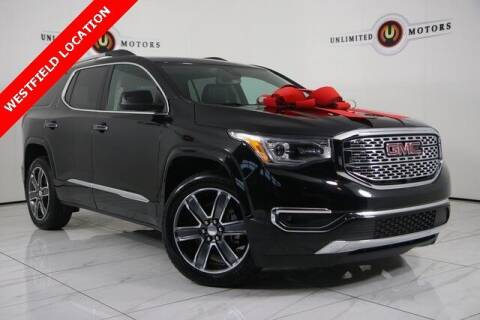 2017 GMC Acadia for sale at INDY'S UNLIMITED MOTORS - UNLIMITED MOTORS in Westfield IN