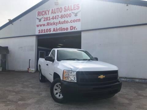 2012 Chevrolet Silverado 1500 for sale at Ricky Auto Sales in Houston TX