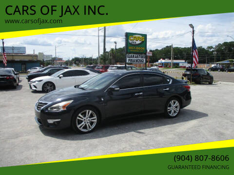 2015 Nissan Altima for sale at CARS OF JAX INC. in Jacksonville FL