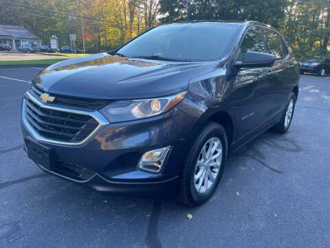 2018 Chevrolet Equinox for sale at Volpe Preowned in North Branford CT