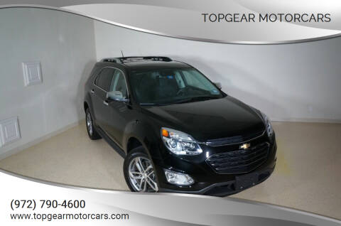 2017 Chevrolet Equinox for sale at TopGear Motorcars in Grand Prarie TX