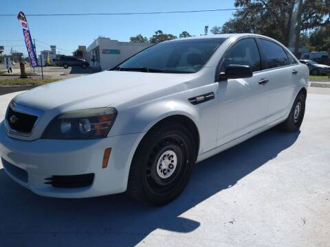 2012 Chevrolet Caprice for sale at NINO AUTO SALES INC in Jacksonville FL