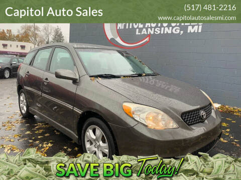 2004 Toyota Matrix for sale at Capitol Auto Sales in Lansing MI