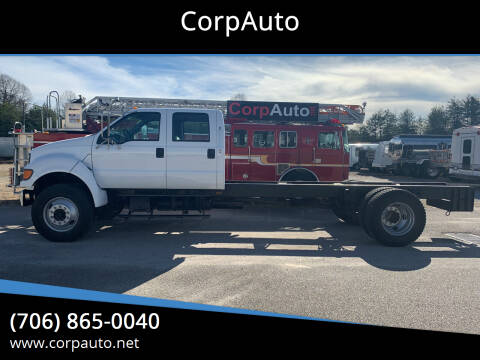 2000 Ford F-750 Super Duty for sale at CorpAuto in Cleveland GA