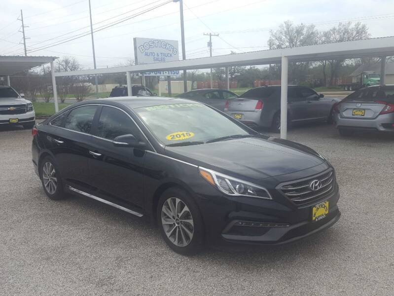 2015 Hyundai Sonata for sale at Bostick's Auto & Truck Sales in Brownwood TX