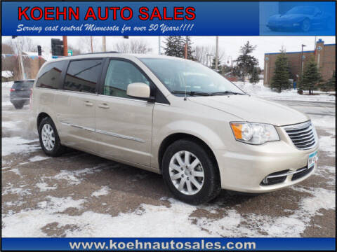 2013 Chrysler Town and Country for sale at Koehn Auto Sales in Lindstrom MN