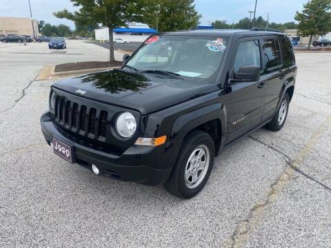 2017 Jeep Patriot for sale at TKP Auto Sales in Eastlake OH