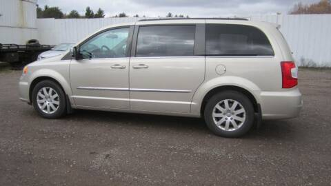 2012 Chrysler Town and Country for sale at Superior Auto of Negaunee in Negaunee MI