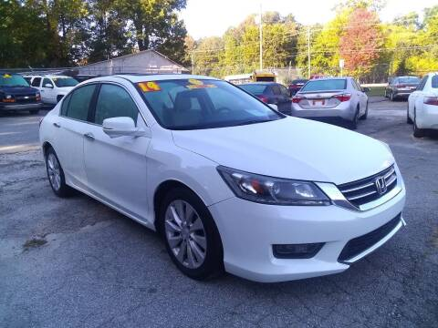 2014 Honda Accord for sale at Import Plus Auto Sales in Norcross GA