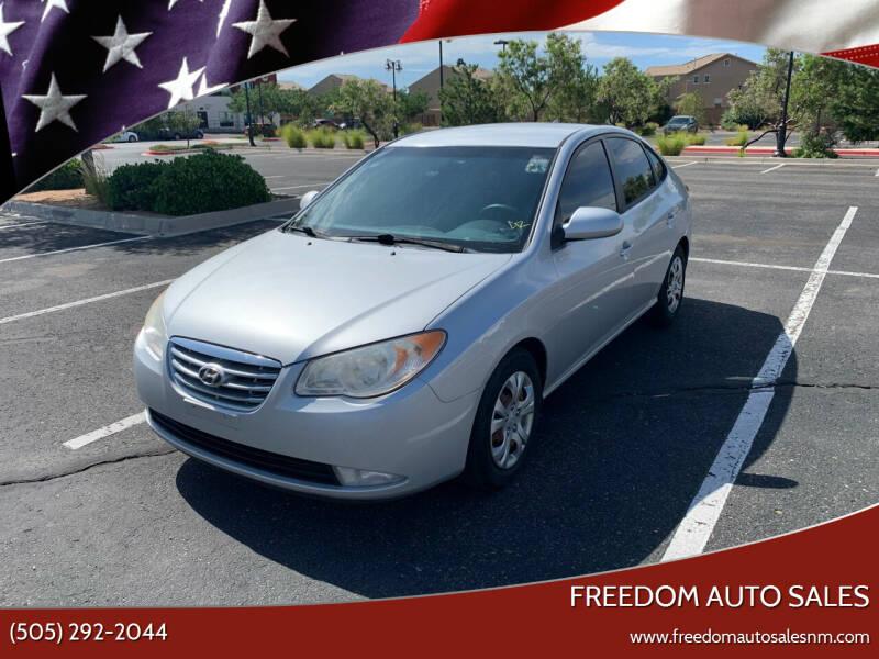 2010 Hyundai Elantra for sale at Freedom Auto Sales in Albuquerque NM