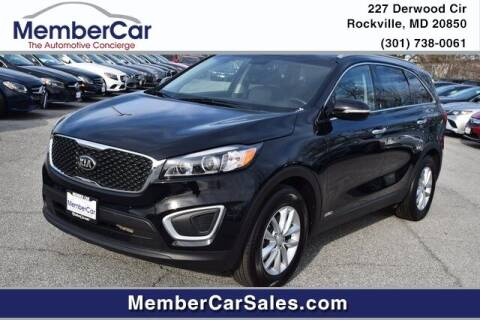 2018 Kia Sorento for sale at MemberCar in Rockville MD
