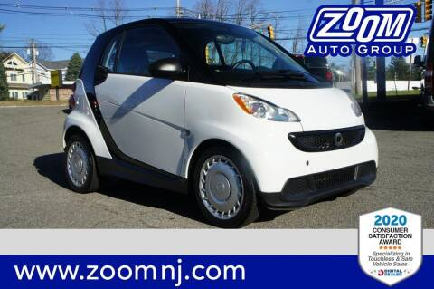 2015 Smart fortwo for sale at Zoom Auto Group in Parsippany NJ