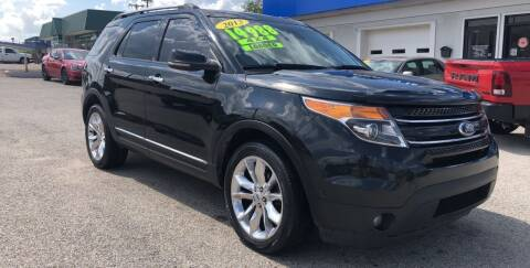 2013 Ford Explorer for sale at Perrys Certified Auto Exchange in Washington IN