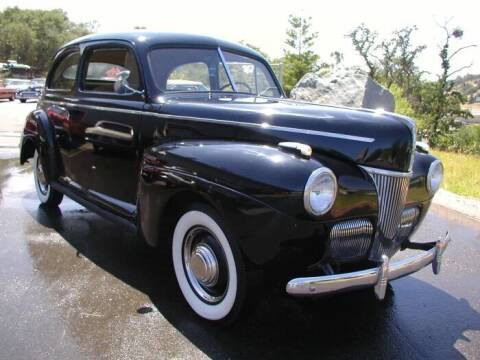 1941 Ford Tudor for sale at Classic Connections in Greenville NC
