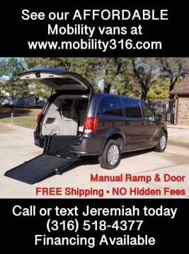 2016 Dodge Grand Caravan for sale at Affordable Mobility Solutions, LLC - Mobility/Wheelchair Accessible Inventory-Wichita in Wichita KS