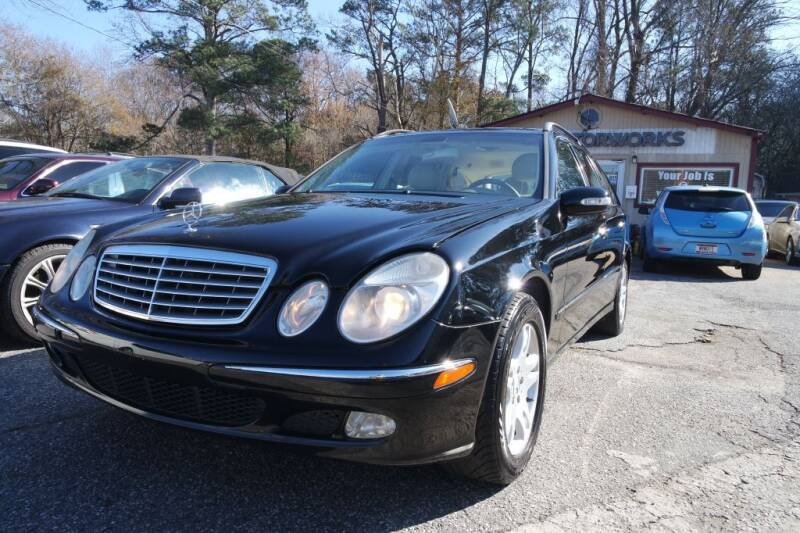 2004 Mercedes-Benz E-Class for sale at E-Motorworks in Roswell GA