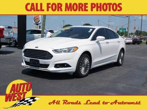 2015 Ford Fusion for sale at Autowest of Plainwell in Plainwell MI