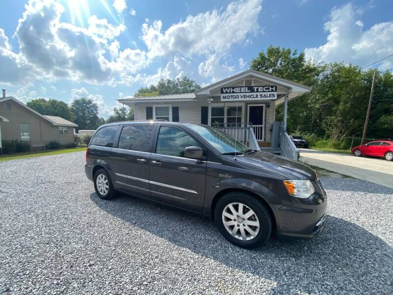 2015 Chrysler Town and Country for sale at Wheel Tech Motor Vehicle Sales in Maylene AL