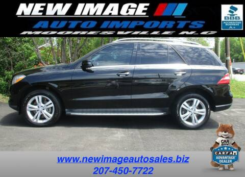 2013 Mercedes-Benz M-Class for sale at New Image Auto Imports Inc in Mooresville NC