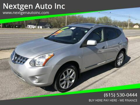 2011 Nissan Rogue for sale at Nextgen Auto Inc in Smithville TN
