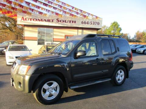 2005 Nissan Xterra for sale at Automart South in Alabaster AL