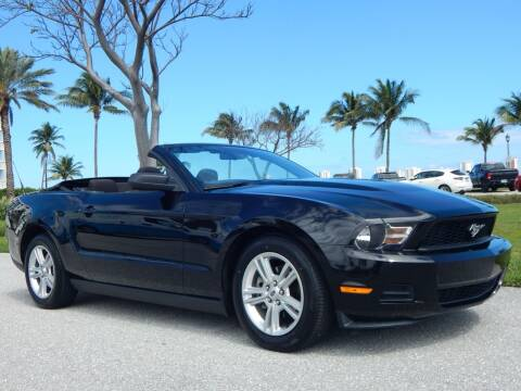 2010 Ford Mustang for sale at VE Auto Gallery LLC in Lake Park FL