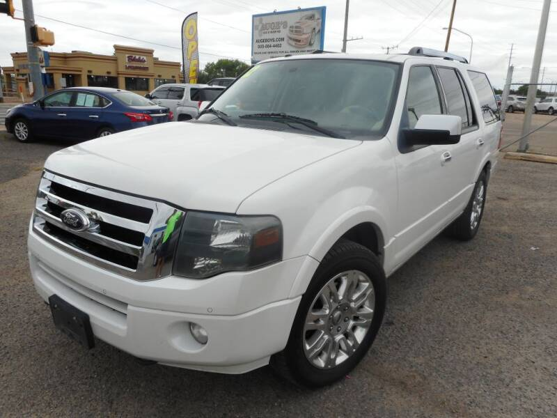 2012 Ford Expedition for sale at AUGE'S SALES AND SERVICE in Belen NM