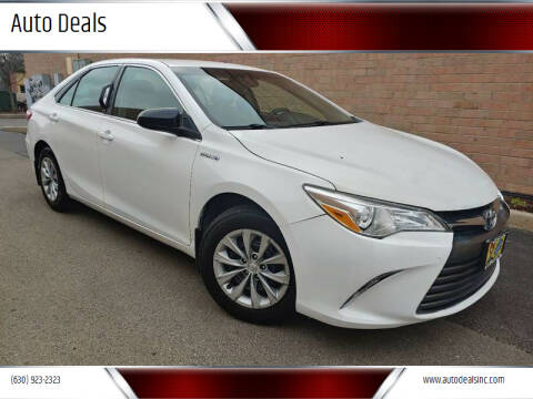 2015 Toyota Camry Hybrid for sale at Auto Deals in Roselle IL