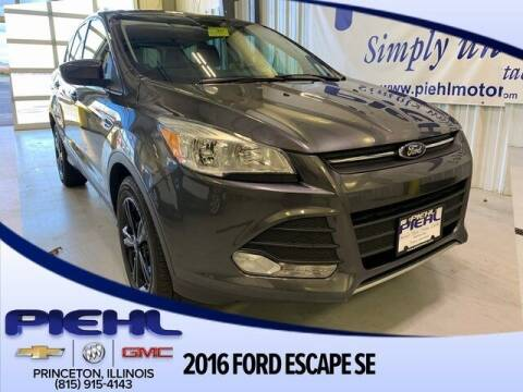 2016 Ford Escape for sale at Piehl Motors - PIEHL Chevrolet Buick Cadillac in Princeton IL