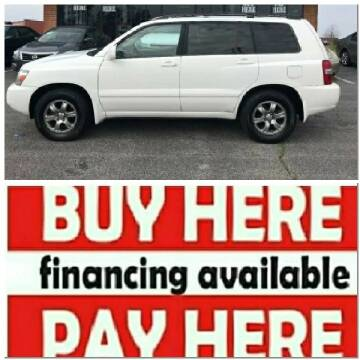 2006 Toyota Highlander for sale at BP Auto Finders in Durham NC