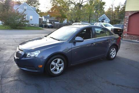2013 Chevrolet Cruze for sale at Absolute Auto Sales, Inc in Brockton MA