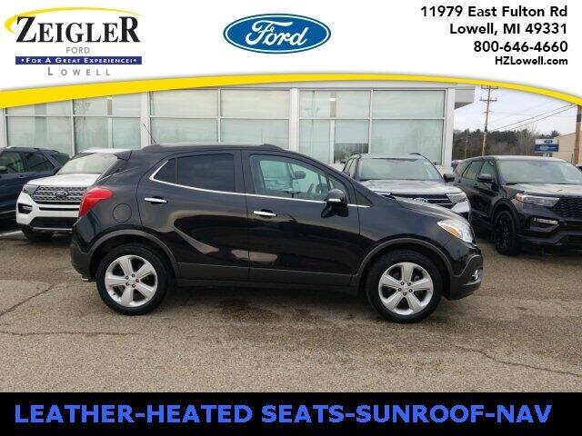 2016 Buick Encore for sale at Zeigler Ford of Plainwell- Jeff Bishop in Plainwell MI