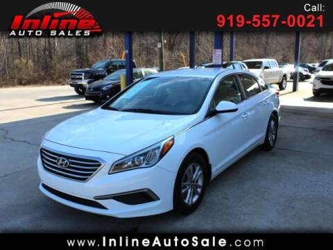 2016 Hyundai Sonata for sale at Inline Auto Sales in Fuquay Varina NC
