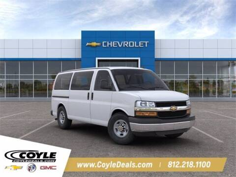 2020 Chevrolet Express Passenger for sale at COYLE GM - COYLE NISSAN - New Inventory in Clarksville IN
