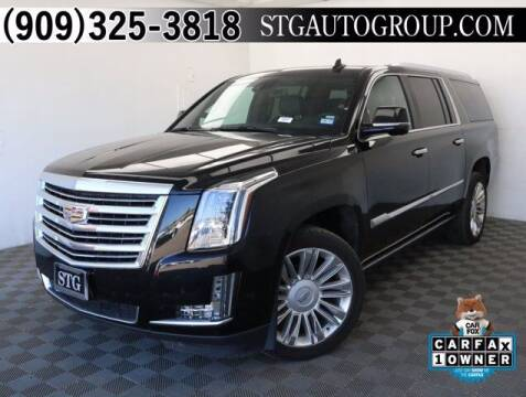 2020 Cadillac Escalade ESV for sale at STG Auto Group in Montclair CA