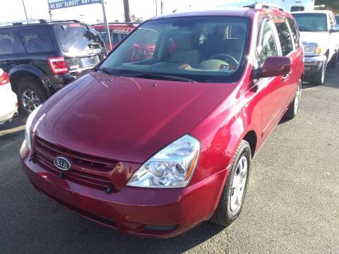 2009 Kia Sedona for sale at Wilson Investments LLC in Ewing NJ