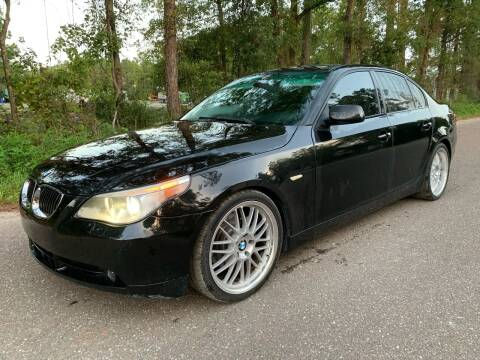 2006 BMW 5 Series for sale at Next Autogas Auto Sales in Jacksonville FL