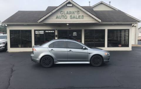 2014 Mitsubishi Lancer for sale at Clarks Auto Sales in Middletown OH