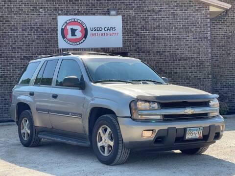 2002 Chevrolet TrailBlazer for sale at Big Man Motors in Farmington MN