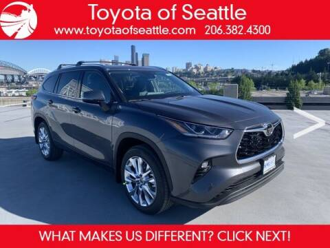2021 Toyota Highlander for sale at Toyota of Seattle in Seattle WA