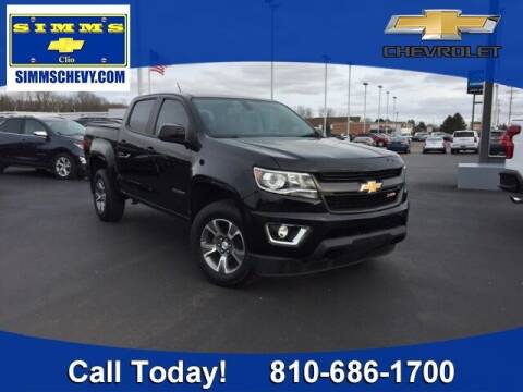 2018 Chevrolet Colorado for sale at Aaron Adams @ Simms Chevrolet in Clio MI
