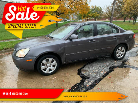2008 Kia Optima for sale at World Automotive in Euclid OH