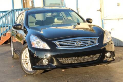 2012 Infiniti G37 Sedan for sale at Dynamics Auto Sale in Highland IN