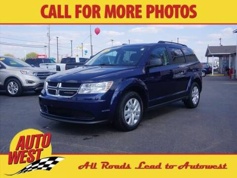 2018 Dodge Journey for sale at Autowest of Plainwell in Plainwell MI