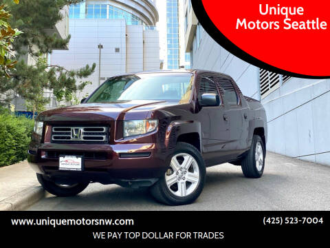 2008 Honda Ridgeline for sale at Unique Motors Seattle in Bellevue WA