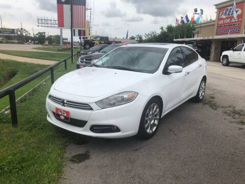 2013 Dodge Dart for sale at FREDY CARS FOR LESS in Houston TX